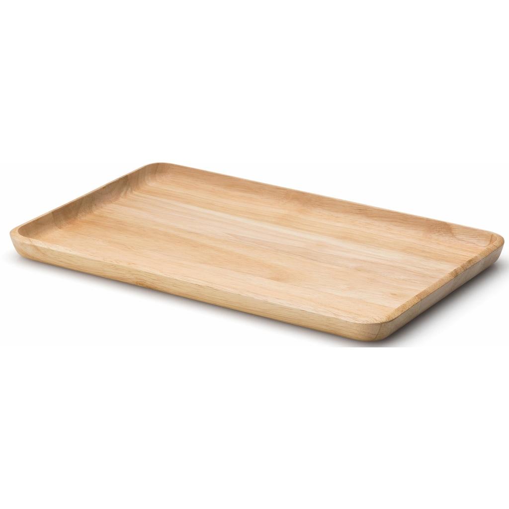 Continenta Tablett, (1 tlg.), Handarbeit, optimal für den Transport von kleinen Dingen