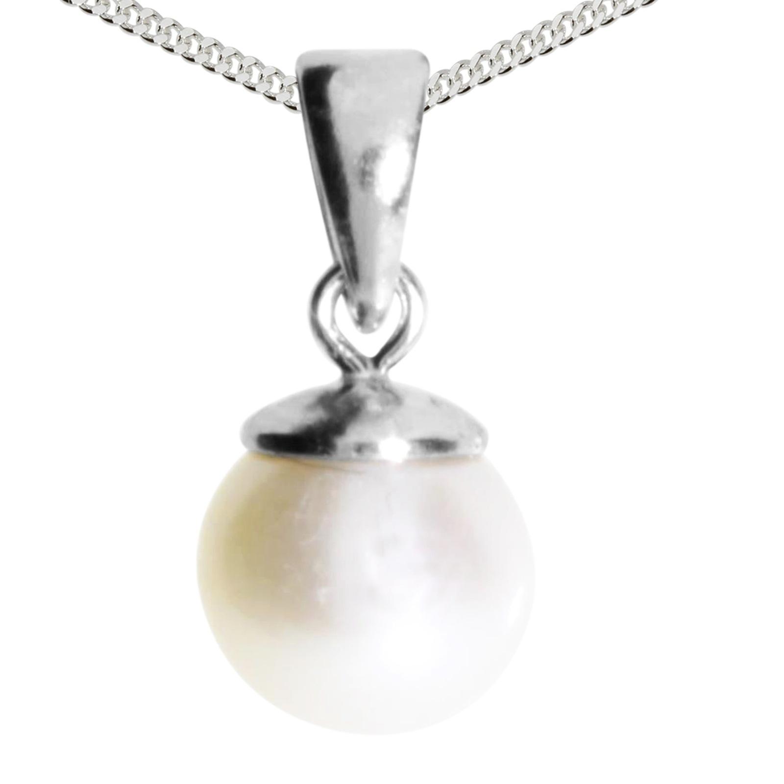 OSTSEE-SCHMUCK Kette mit Anhänger Ingrid 6 - Silber 925/000 | Schmuck > Halsketten > Silberketten | Ostsee-Schmuck