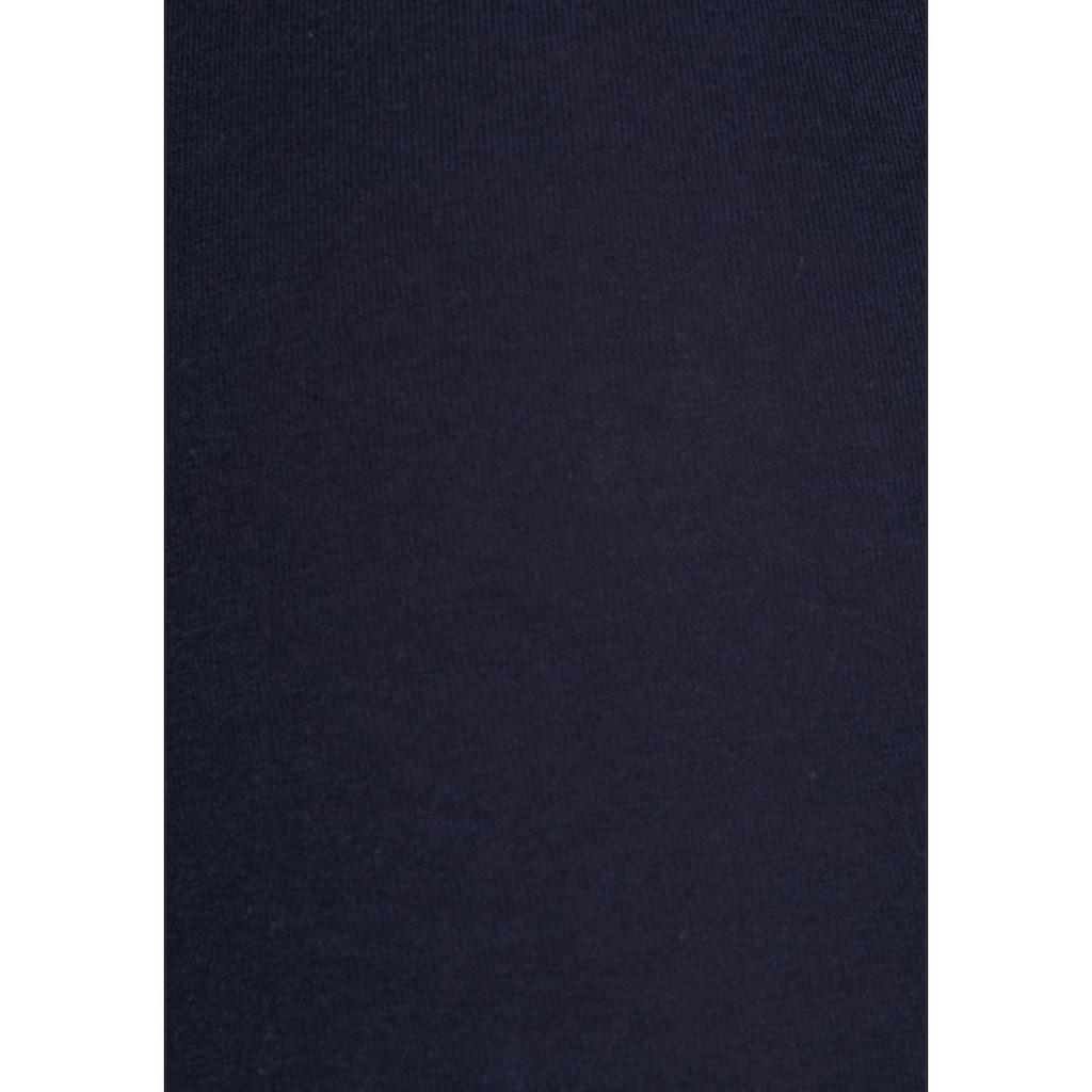 Bench. Langer Boxer, mit schmalem Streifen im Webbund