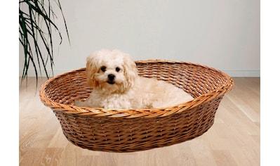 SILVIO design Tierkorb »Weide Ruhekorb mit Kissen« kaufen
