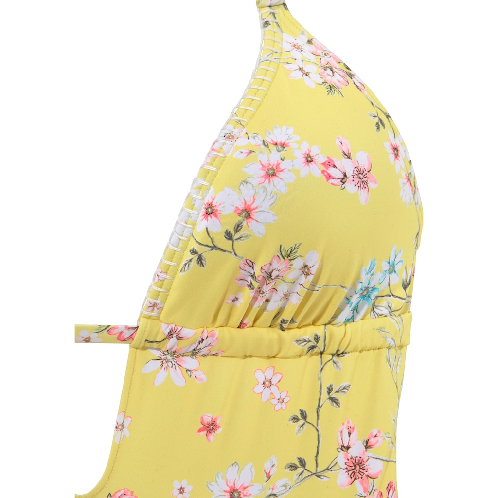 Sunseeker Badeanzug »Ditsy«, mit Häkelkante