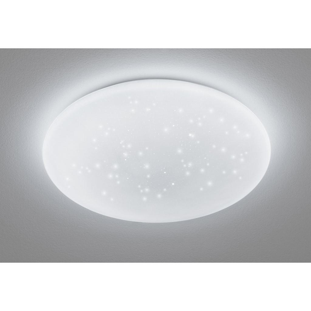 EGLO LED Deckenleuchte »GIRON - TW«, LED-Modul, 1 St., Farbwechsler, Deckenlampe Ø 40 cm, Kristalleffekt / Sternenhimmel, Fernbedienung, Farbtemperatur einstellbar 2700-6500 Kelvin, Nachtlicht, Dimmbar