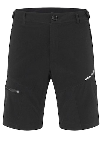 SUPER.NATURAL Fahrradhose »M UNSTOPPABLE SHORTS«, reflektierendes Logo für optimale... kaufen