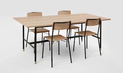 Woodman Esstisch »Daniel«, (Set), Breite 200 cm, verlängerbar auf 300 cm kaufen