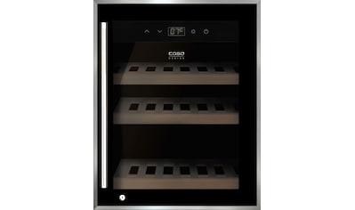 Caso Weinkühlschrank WineSafe 12 black, für 12 Standardflaschen á 0,75l kaufen