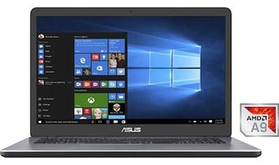 """Asus Notebook »D705BA-BX002T«, (43,94 cm/17,3 """" AMD A9 R5\r\n 512 GB SSD), Kostenloses... kaufen"""