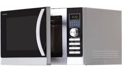 Sharp Mikrowelle »R843INW«, Grill und Heißluft, 900 W, mit Doppelgrill kaufen