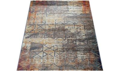 Teppich, »Jazz 705«, Paco Home, rechteckig, Höhe 14 mm, maschinell gewebt kaufen