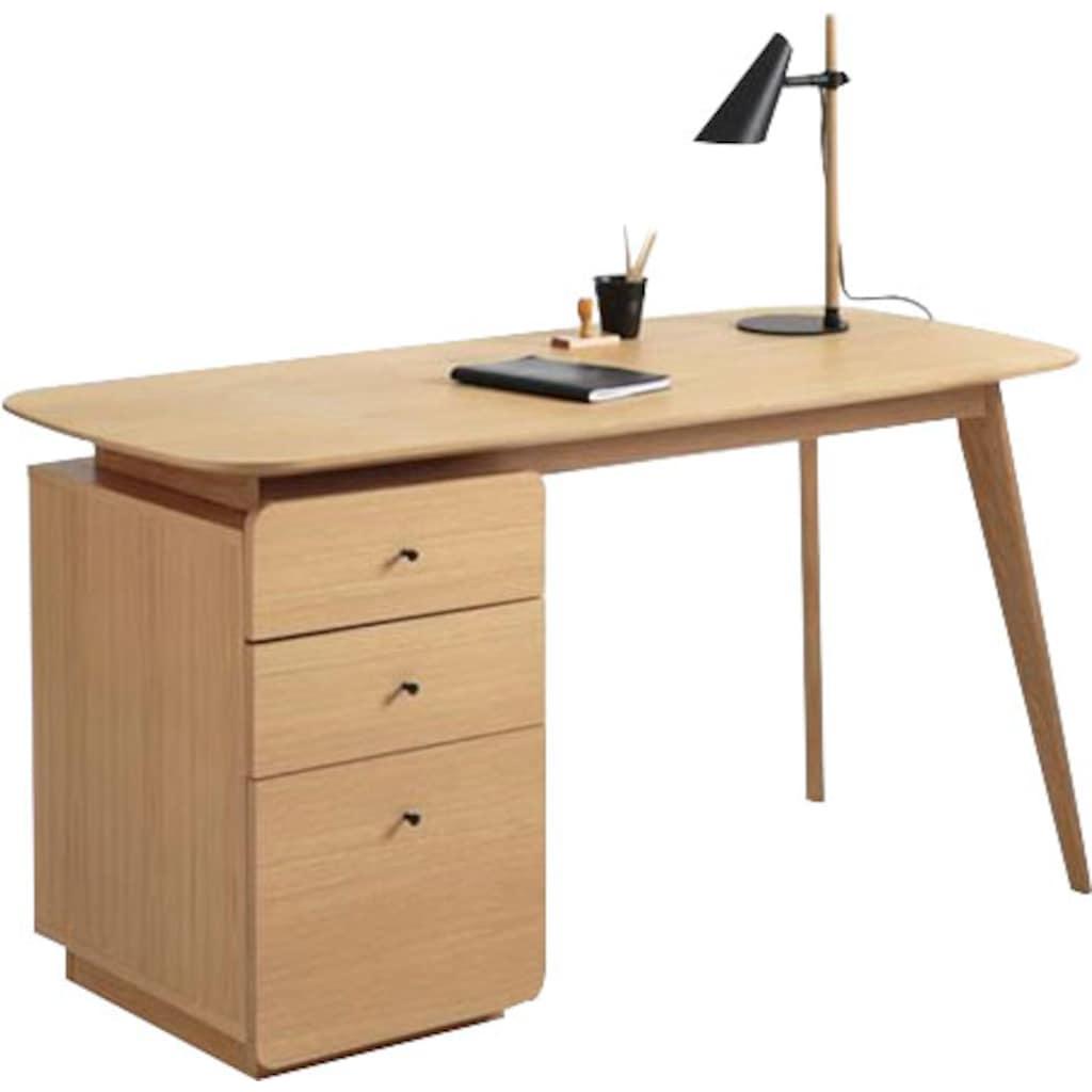andas Schreibtisch »Goa«, im skandinavischen Design, Breite 144 cm