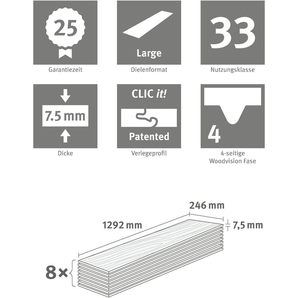 EGGER Designboden »Jura Schiefer anthrazit«, klassische Fischgrätoptik, Robust & strapazierfähig