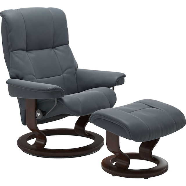 Stressless® Fußhocker »Mayfair« (Set, 2 Stück, Relaxsessel mit Hocker)