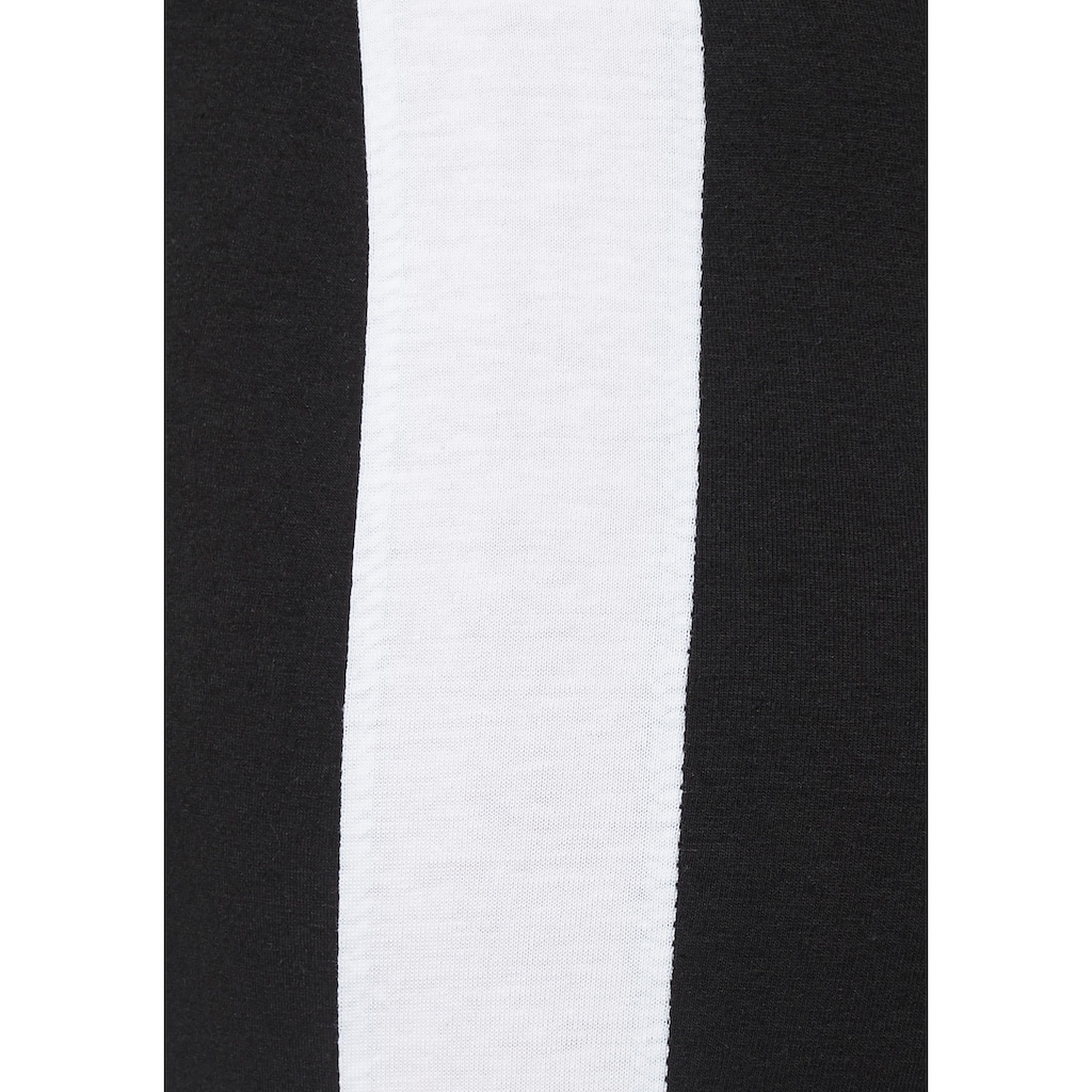 Arizona Leggings, (2er-Pack), mit breitem Streifen