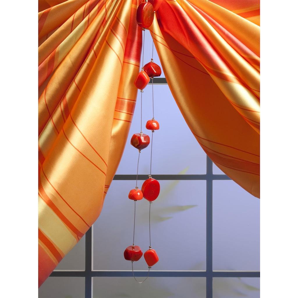 Liedeco Dekokette »Rubin«, (1 St.), zur Dekoration von Seitenschals, Gardinen
