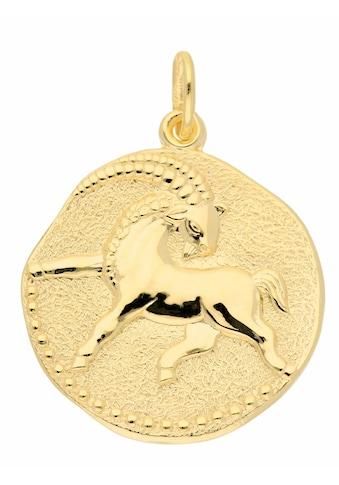 Adelia´s Kettenanhänger »333 Gold Sternzeichen Anhänger Steinbock Ø 18,2 mm«,... kaufen