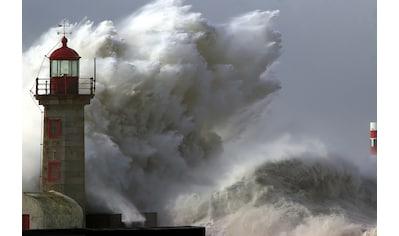PAPERMOON Fototapete »Lighthouse in Storm«, Vlies, in verschiedenen Größen kaufen