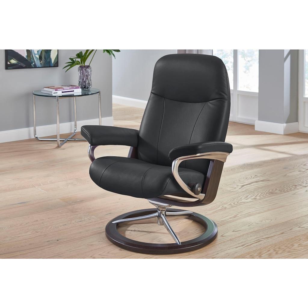 Stressless® Relaxsessel »Garda«, mit Signature Base, Größe M, Gestell Wenge