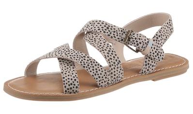 TOMS Sandale »SICILY«, mit verstellbarer Schnalle kaufen