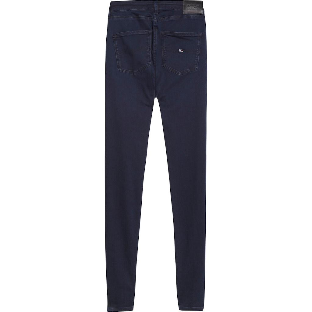 Tommy Jeans Skinny-fit-Jeans »SYLVIA HR SUPER SKNY«, mit Tommy Jeans Logo-Badge & Stickereien