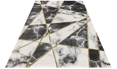 Festival Teppich »Opal 740«, rechteckig, 12 mm Höhe, Hoch-Tief-Effekt, Marmor Optik,... kaufen