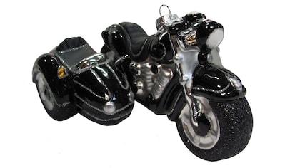 """Krebs Glas Lauscha Christbaumschmuck """"Motorrad mit Beiwagen"""" (1 - teilig) kaufen"""