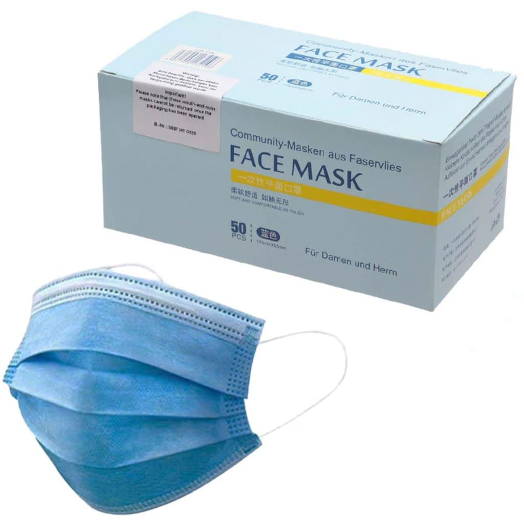Community-Masken, Einweg-Masken für Erwachsene
