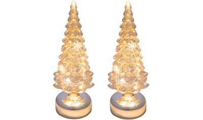 Creativ light LED Baum, 2 St., Tannenbaum aus Glas kaufen