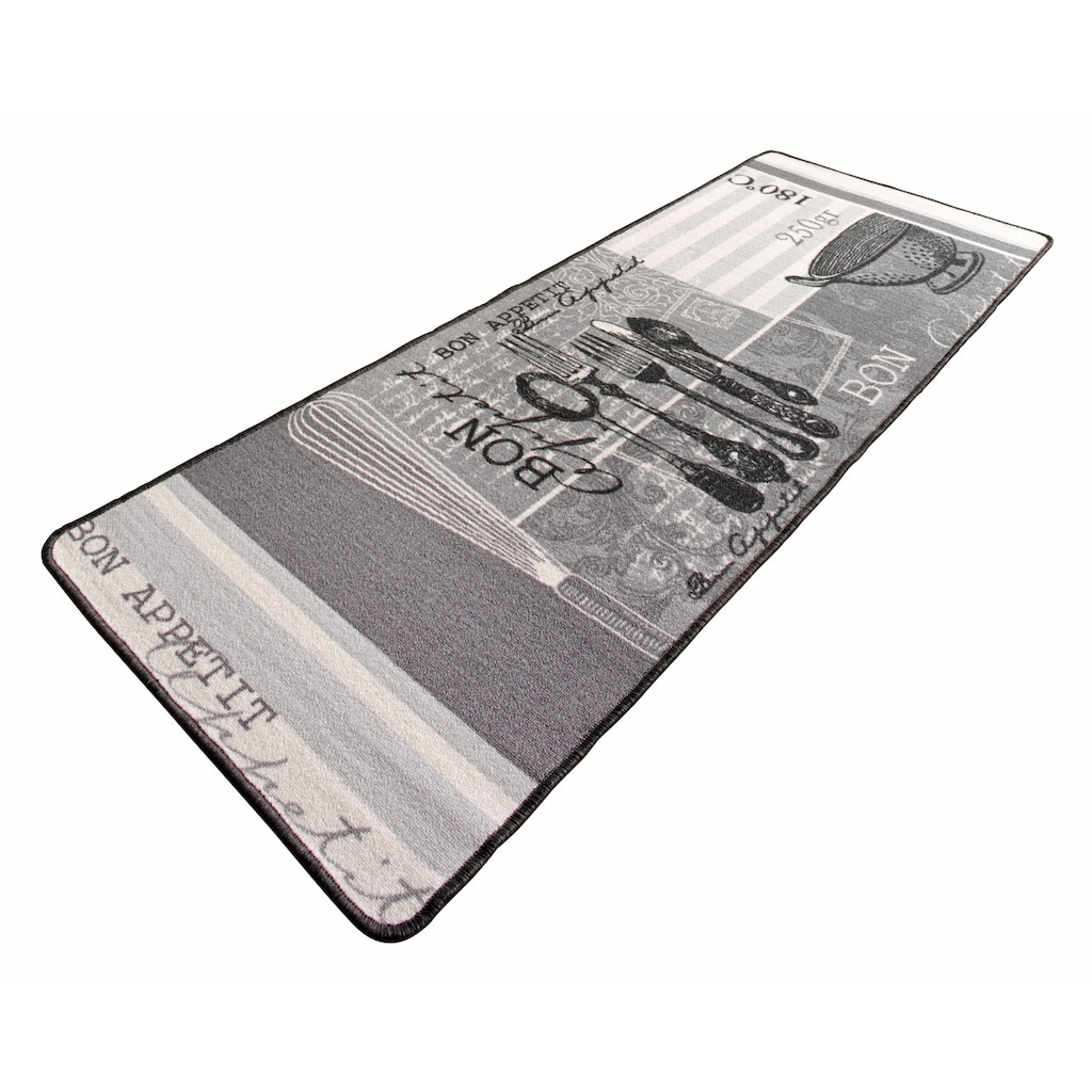 HANSE Home Küchenläufer »Bon Appetit«, rechteckig, 8 mm Höhe