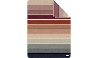 s.Oliver Wohndecke »Jacquard Decke s.Oliver«, mit Streifen kaufen