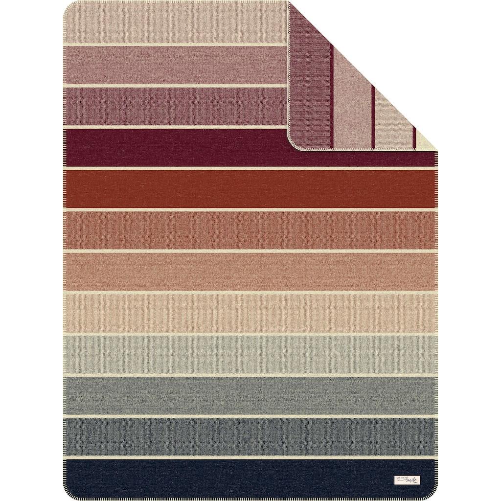 s.Oliver Wohndecke »Jacquard Decke s.Oliver«, mit Streifen