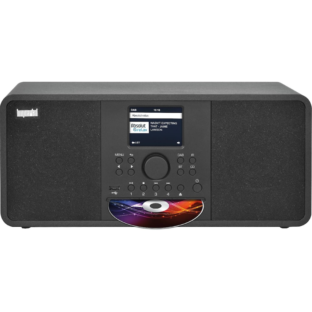 IMPERIAL by TELESTAR DAB+ Digitalradio, UKW Empfang mit CD Player, Internetradio
