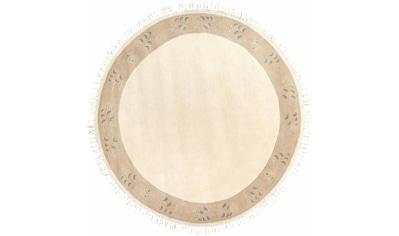 Wollteppich, »Adour«, LUXOR living, rund, Höhe 18 mm, manuell geknüpft kaufen