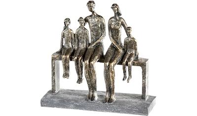 Casablanca by Gilde Dekofigur »Skulptur We are family, bronzefarben/grau«, Dekoobjekt,... kaufen