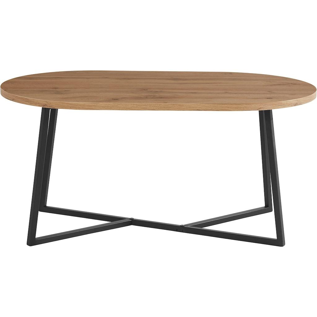my home Couchtisch »Dinise«, mit ovalförmiger Tischplatte