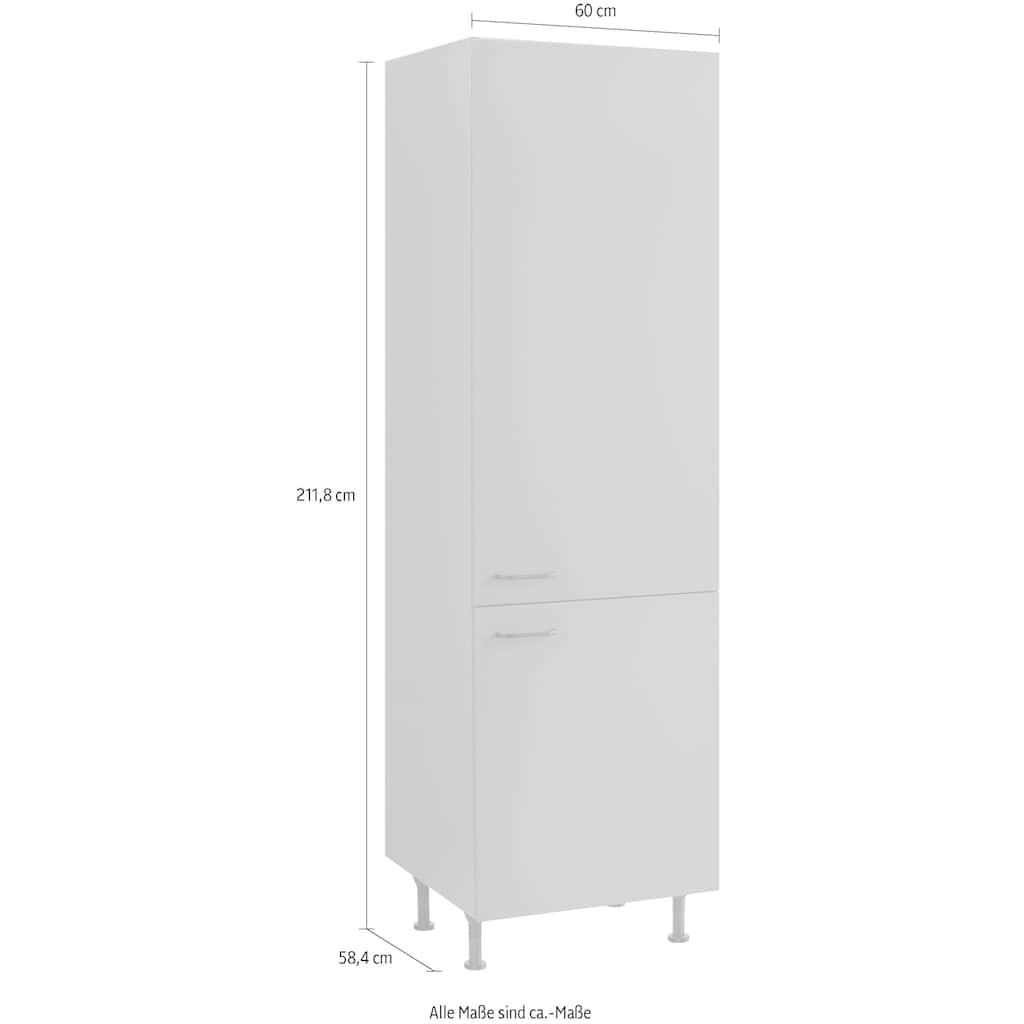OPTIFIT Hochschrank »Elga«, mit Soft-Close-Funktion, höhenverstellbaren Füßen und Metallgriffen, Breite 60 cm