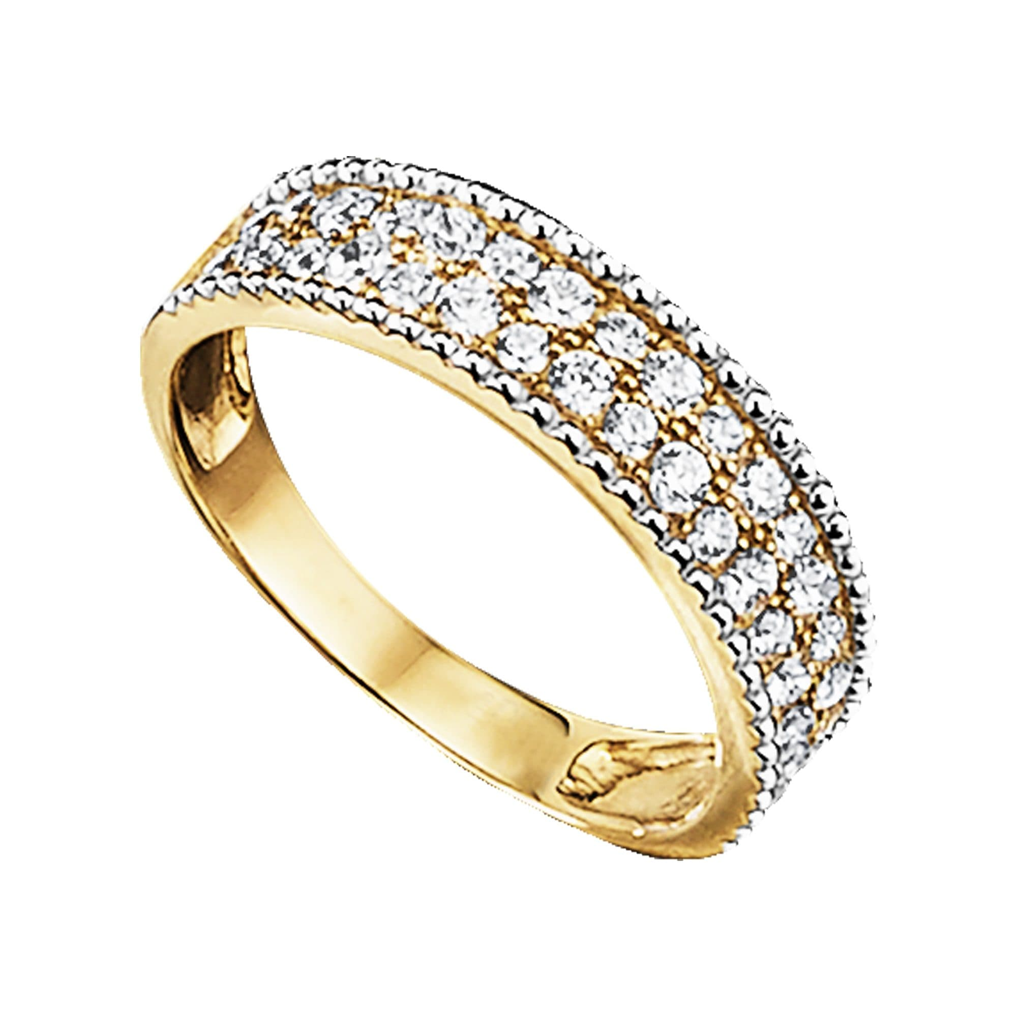 Jacques Lemans Ring 375 Gold