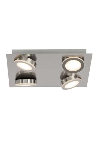 Brilliant Leuchten Champion LED Deckenleuchte 4flg Quadrat eisen kaufen