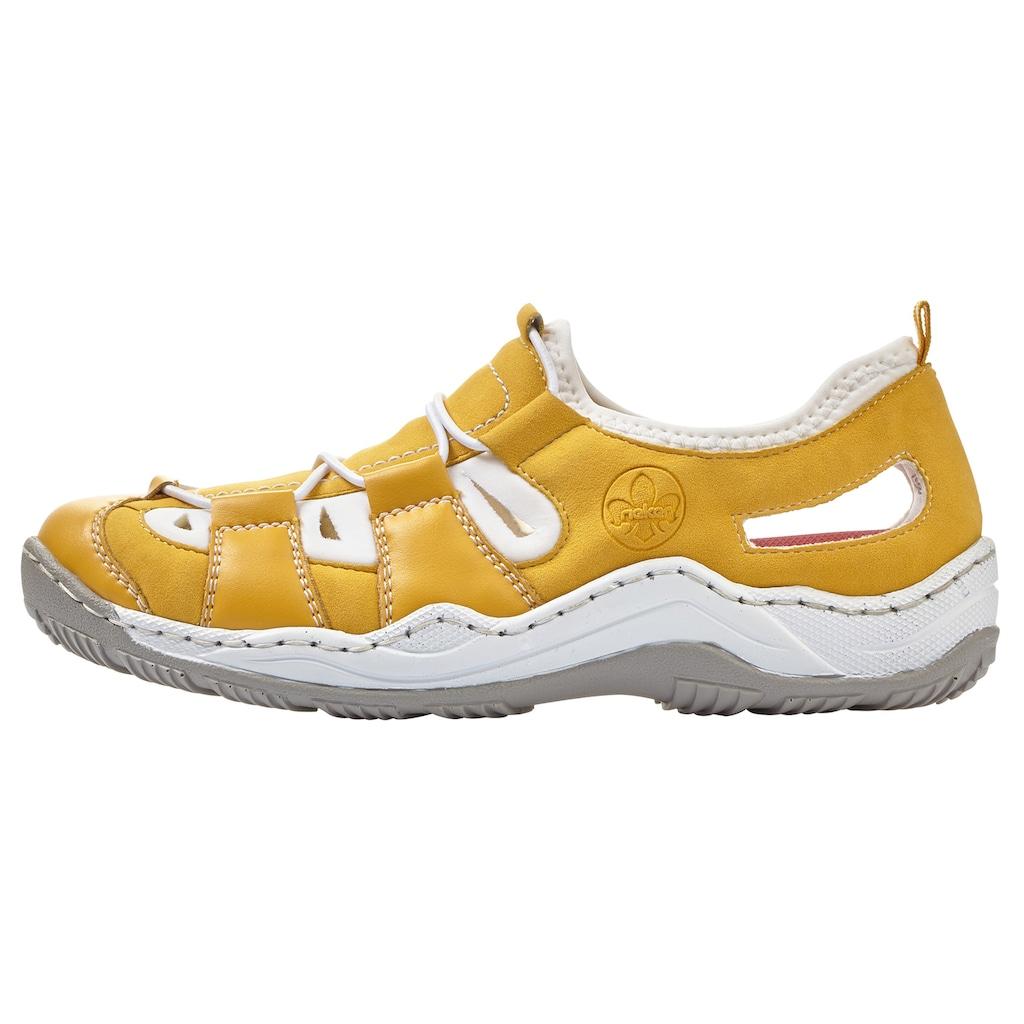 Rieker Slip-On Sneaker, mit herausnehmbarem Textilfußbett