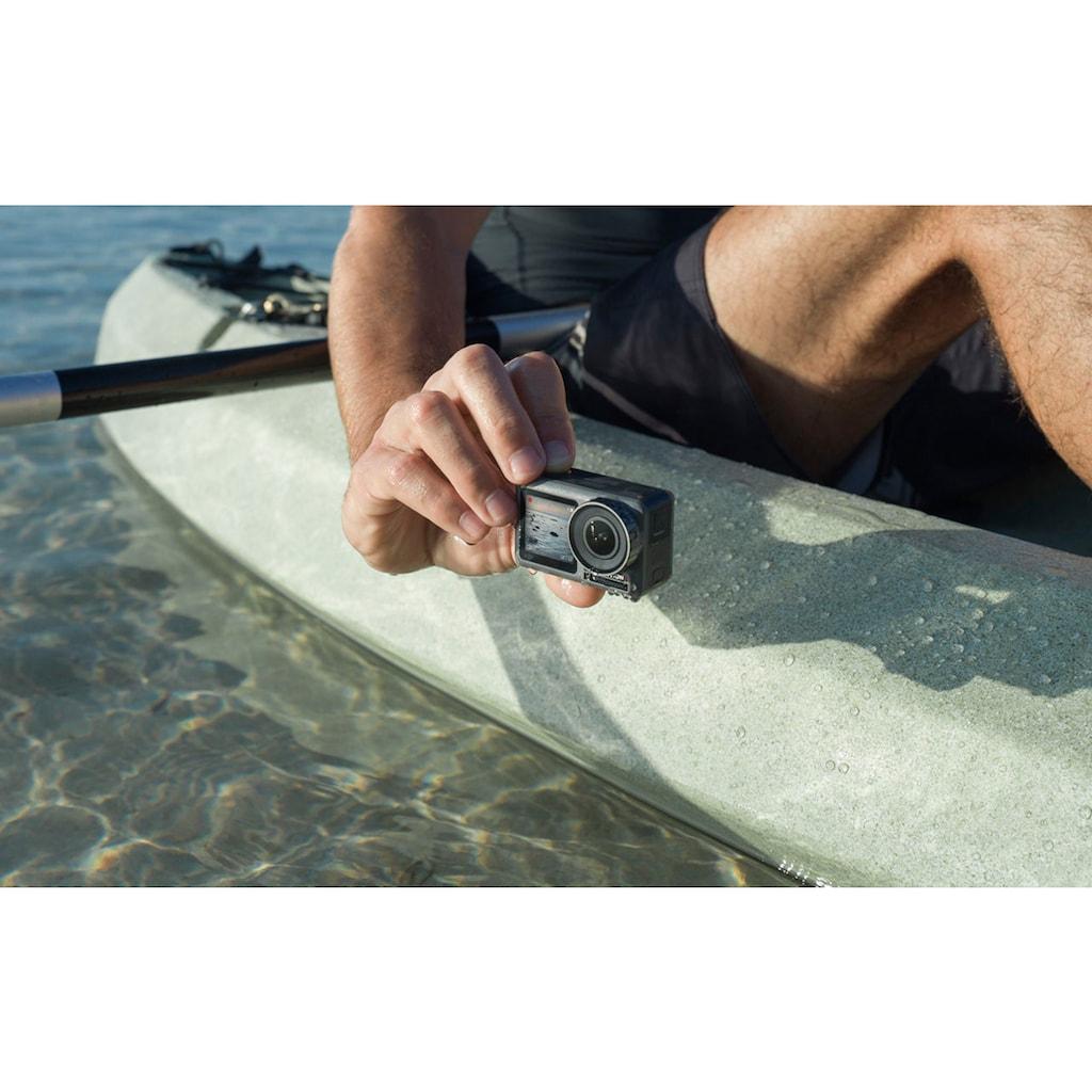 dji Action Cam »OSMO Action Cam«, 4K Ultra HD, Bluetooth-WLAN (Wi-Fi), Digitale Actionkamera mit 2 Bildschirmen, 11m wasserdicht, 4K HDR-Video, 12MP, 145° Winkelobjektiv Kamera