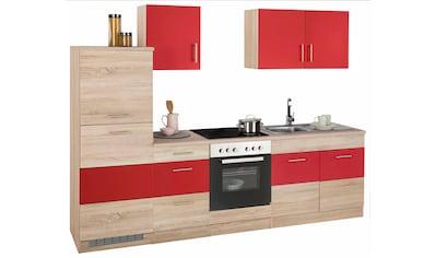 HELD MÖBEL Küchenzeile »Perth«, mit E-Geräten, Breite 270 cm kaufen