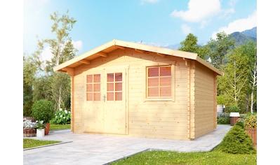 WOLFF FINNHAUS Gartenhaus »Reims«, BxT: 444x370 cm kaufen