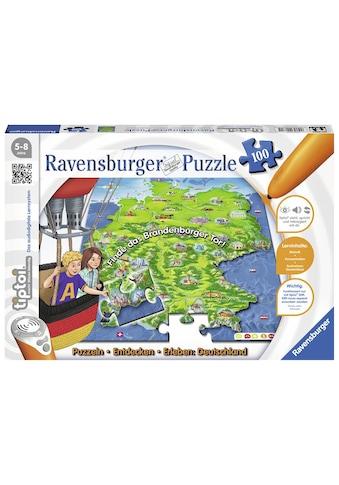 Ravensburger Puzzle »tiptoi® Puzzlen, Entdecken, Erleben: Deutschland«, Made in... kaufen