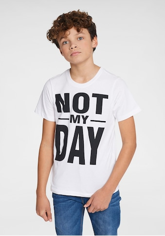 KIDSWORLD T-Shirt »NOT MY DAY« kaufen