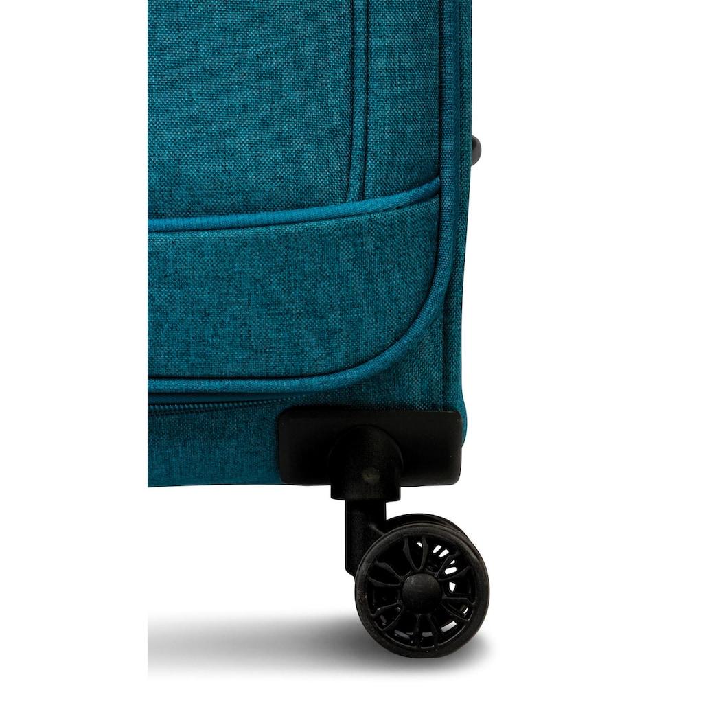 fabrizio® Trolleyset »Beyond, Petrol«, (3 tlg.)