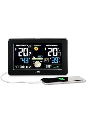 ADE »WS 1704« Funkwetterstation (mit Außensensor) kaufen