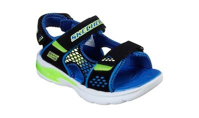 Skechers Kids Riemchensandale »E-II SANDAL«, mit cooler Blinkfunktion kaufen