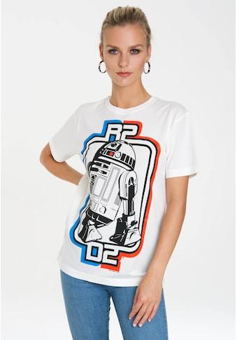 LOGOSHIRT Print-Shirt »R2-D2 Logo«, mit lizenziertem Originaldesign kaufen