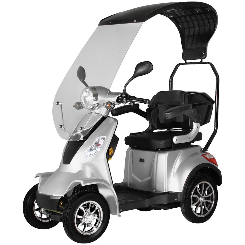 Didi THURAU Edition Elektromobil »4-Rad Palermo mit Wind- und Wetterschutz 25 km/h«, 1000 W, 25 km/h, (mit Topcase)