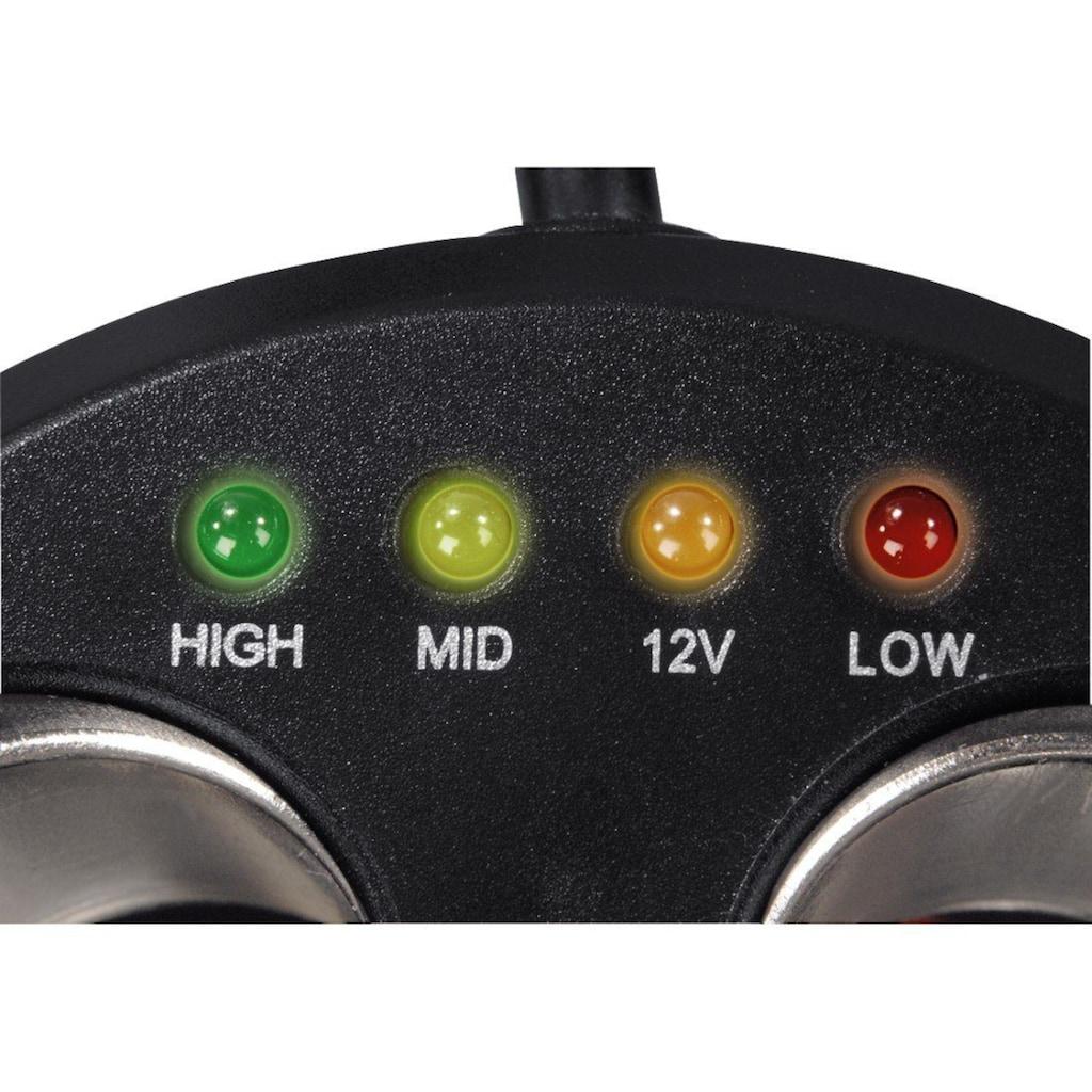 Hama 3-fach-Verteiler für Zigarettenanzünderbuchse, 12V, 8A, LED