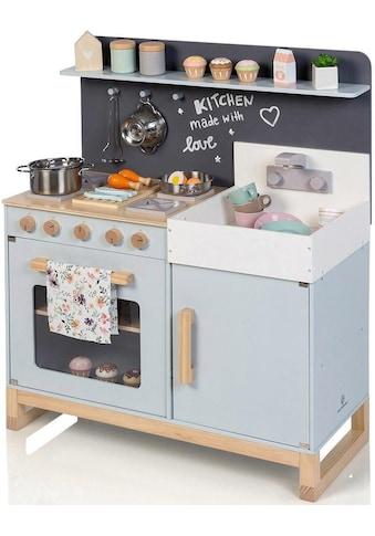 """MUSTERKIND® Spielküche """"Linum, graublau"""", Holz kaufen"""