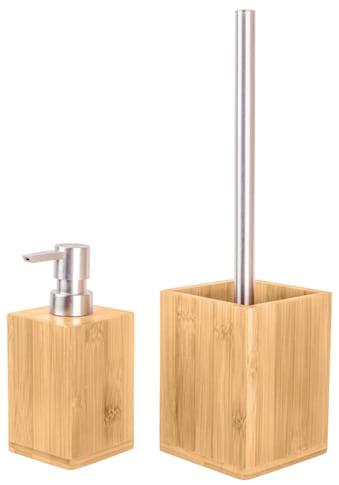 Sanilo Badaccessoires-Sets »Bambus«, strukturiert kaufen